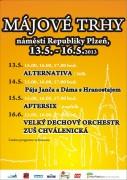Májový trh 13.5.-16.5. 2013 - program