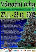 Vánoční trh 27.11.-23.12. 2013 - program