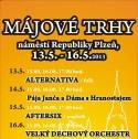 Májový trh 13.5.-16.5. 2013