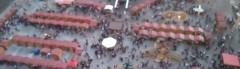 Vánoce - pohled z věže