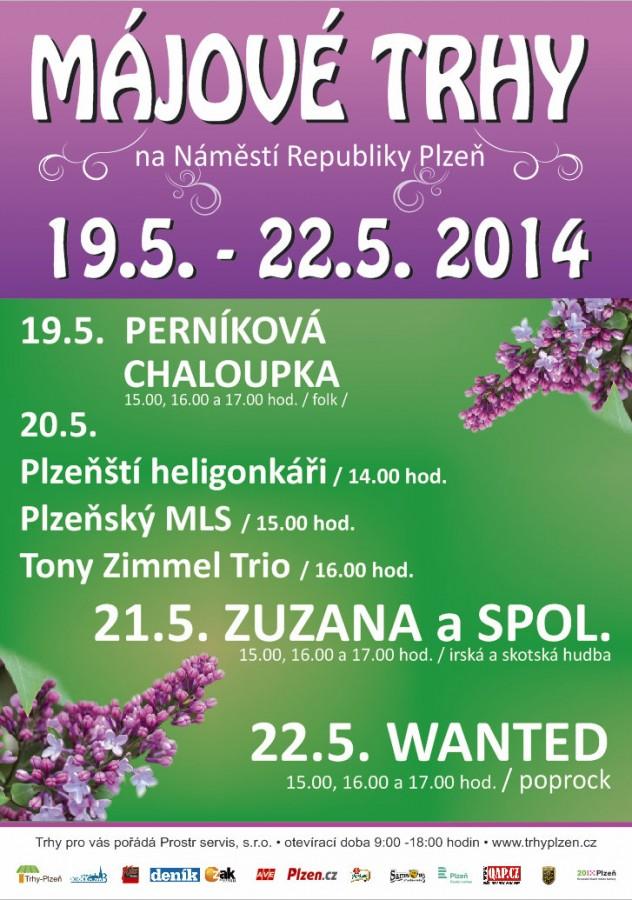 Májový trh 19.5.-22.5. 2014 - program