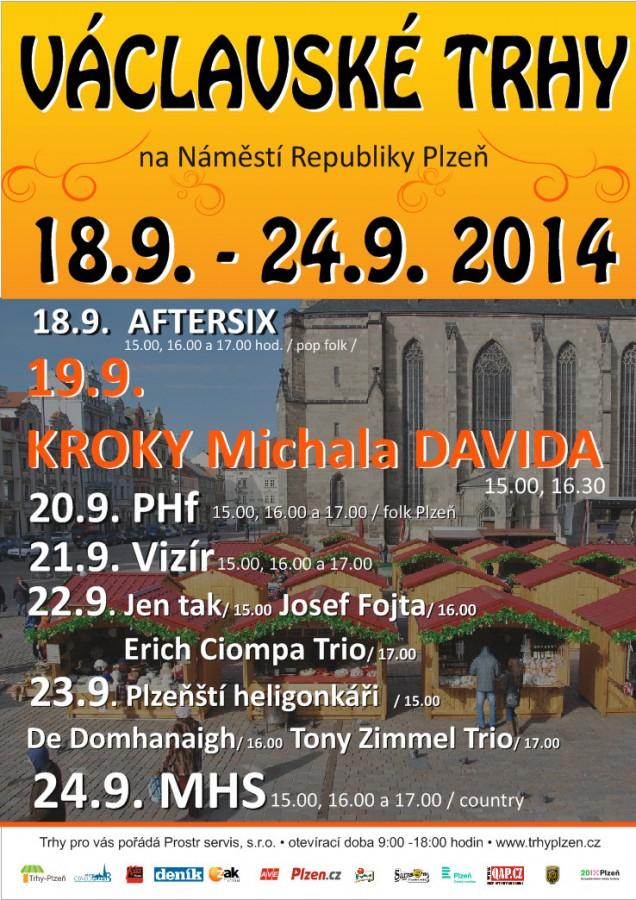 Václavské trhy 18.9. - 24.9. 2014 - program