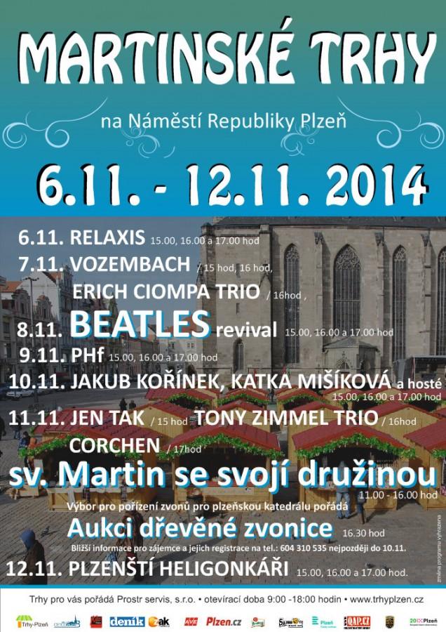 Martinský trh 6.11.-12.11. 2014