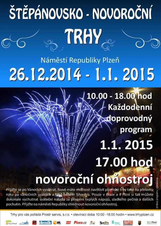 Štěpánovsko - novoroční trh