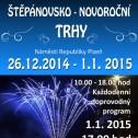 Štěpánovsko - novoroční trh 26.12. - 1.1. 2015