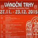 Vánoční trh 27. 11. - 23. 12. 2015