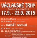 Václavské trhy 17. 9. - 23. 9. 2015